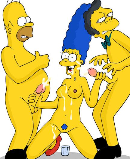 hot 3some cartoons