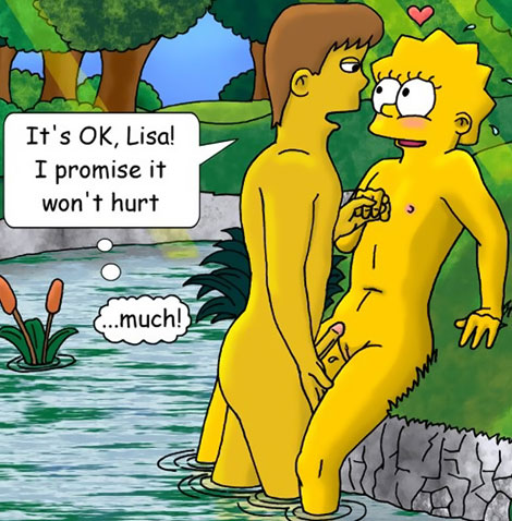 Lisa cartoon porn