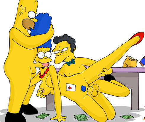 Marge gets banged