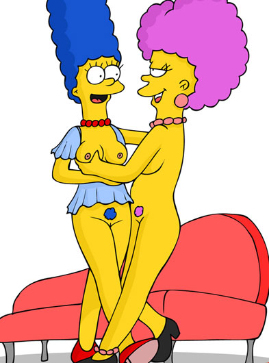 Marge patty and zelma lesbian orgie