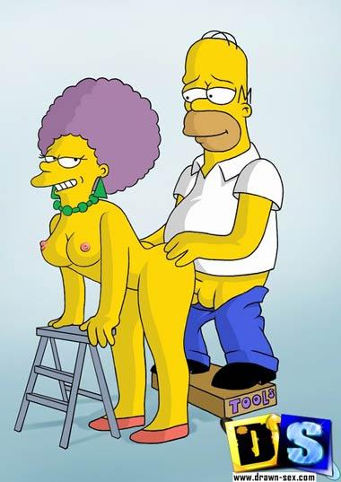 Homer porn toons